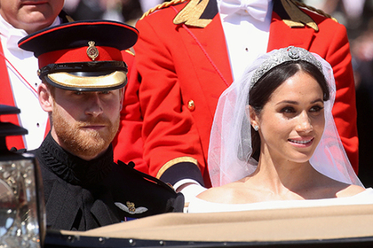 Принц Гарри похвалил макияж Меган Маркл