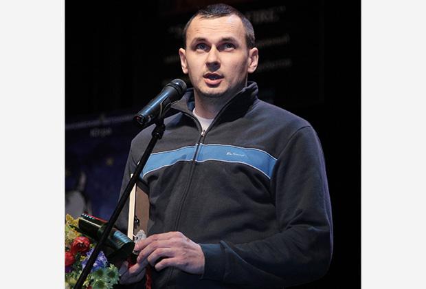 Олег Сенцов в 2012 году