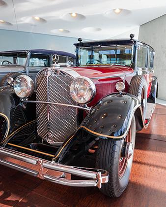 Mercedes-Benz императора Хирохито ныне хранится в фирменном музее марки