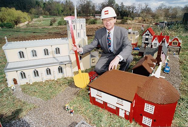 Кьелль Кирк Кристиансен, бывший гендиректор LEGO