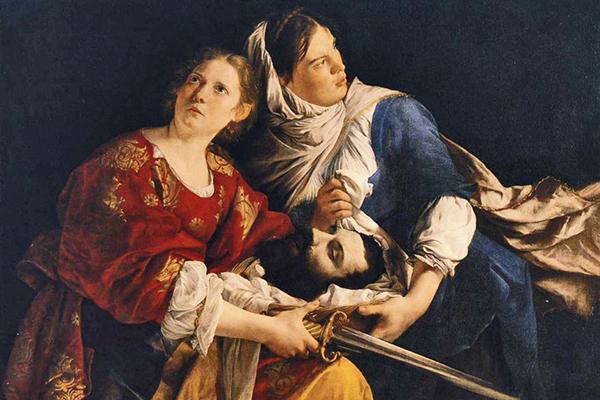 «Юдифь и ее служанка с головой Олоферна»