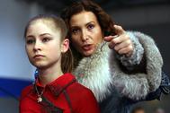 Этери Тутберидзе и Юлия Липницкая