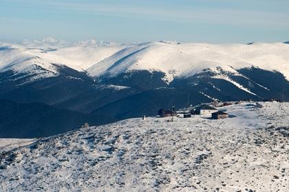 Четверо туристов остались замерзать на алтайской горе