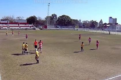 Футболистки учинили массовую драку из-за пенальти