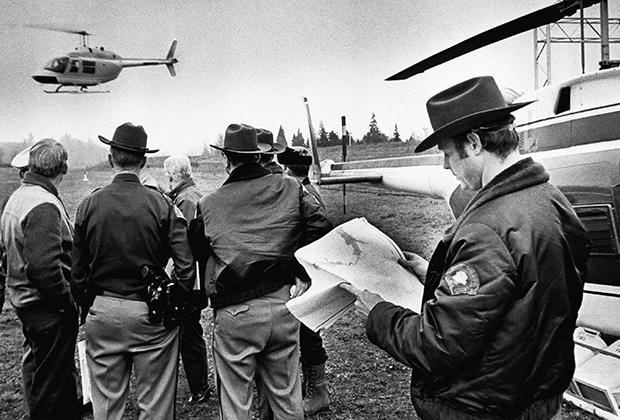 Захваченный Купером «Боинг-727»