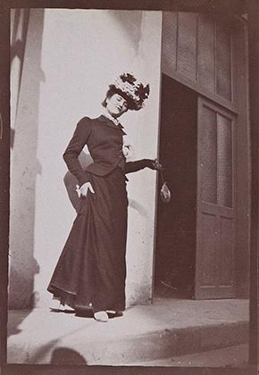 Misia Natanson in Cannes, 1901