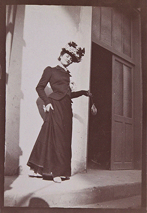 Misia Natanson in Cannes, 1901