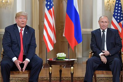Спецслужбы США назвали встречу Владимира Путина иТрампа успешной для РФ