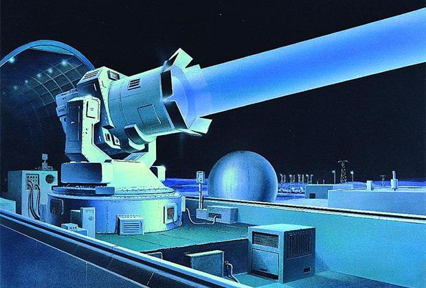 Проект советского наземного лазера
