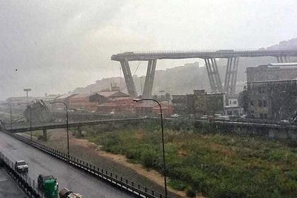 Под рухнувшим мостом в Италии нашли выживших