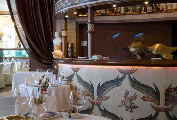 Интерьер одного из ресторанов La Maree