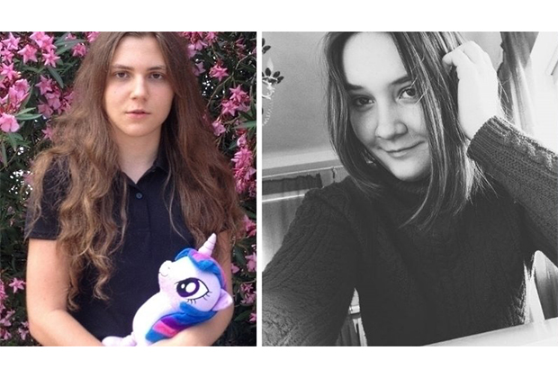 Анна Павликова и Маша Дубовик