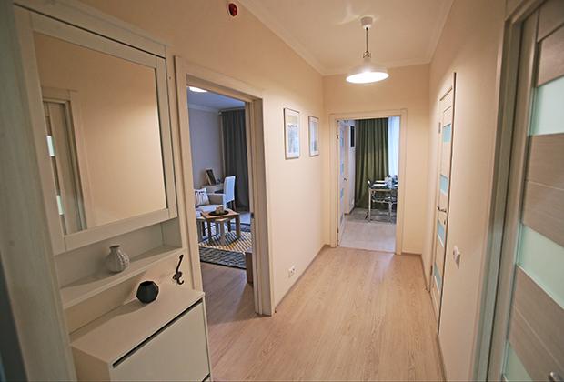 Коридор типовой 1-комнатной квартиры