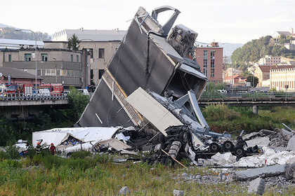 МВД Италии подтвердило смерть  31 человека из-за обрушения моста вГенуе