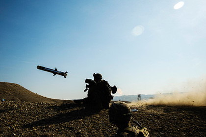 Грузинская армия опробовала американские Javelin