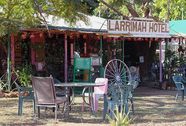 Единственный отель и паб в Ларриме «Розовая Пантера»