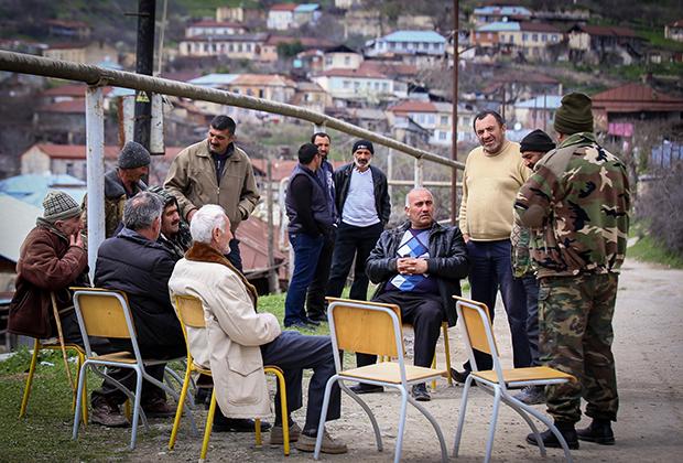 Степанакерт, столица непризнанной Нагорно-Карабахской Республики