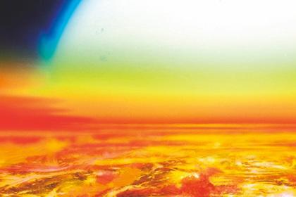 Найдена планета с железным небом