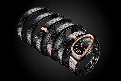 «Змеиные» часы воплотили в керамике