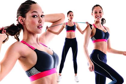 Спортсменкам помогут поддержать грудь