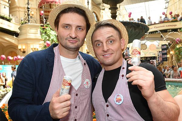 Эдгар (слева) и Аскольд Запашные