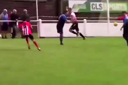Вратарь забил гол на последней минуте и спас команду от поражения
