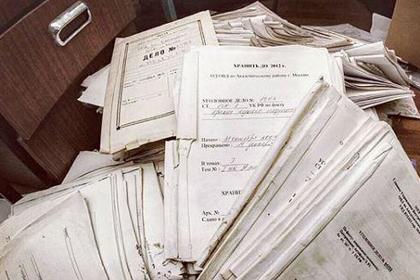 В заброшенном отделении полиции нашли кубометры документов россиян