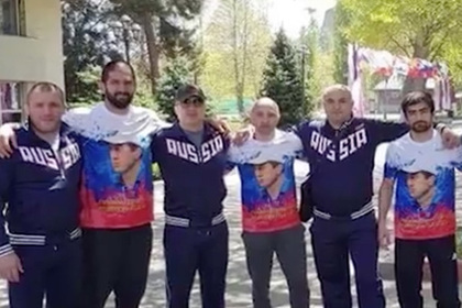 Грузинские борцы отреклись от российского флага