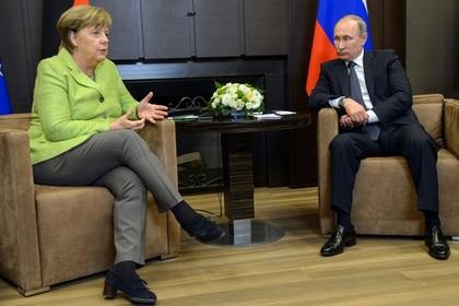 Меркель дала оценку предстоящей встрече с Путиным