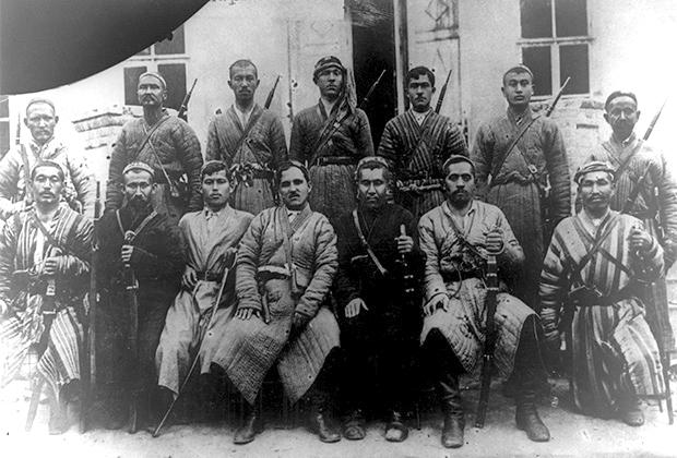 Участники борьбы с басмачеством в 1922-1933 годах
