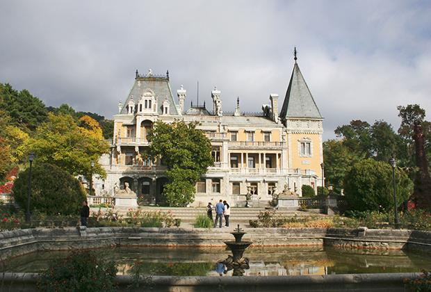 Массандровский дворец Сталина в Крыму