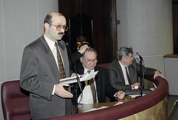 Министр финансов РФ Михаил Задорнов