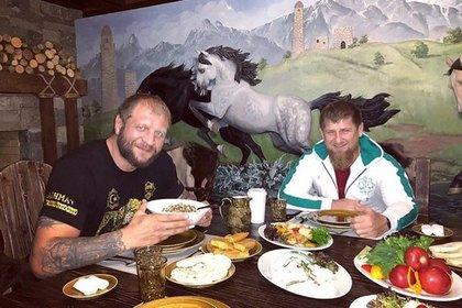 Кадыров нашел русского богатыря