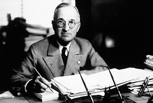 Гарри Трумэн, 33-й президент США, 1945 год