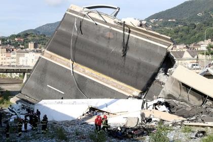 Жертвами рухнувшего моста в Генуе стала целая семья