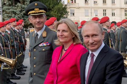 Австрийцы перекрыли шоссе и отложили начало свадьбы ради Путина