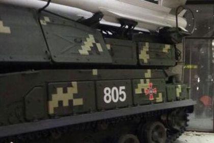 Удар ЗРК «Бук» по зданию в Киеве попал на видео