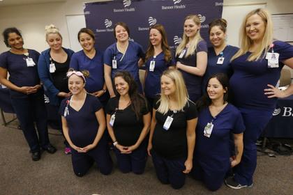 В больнице одновременно забеременели 16 медсестер