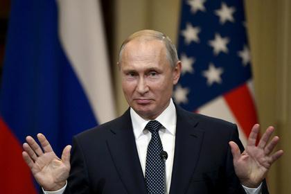 Портрет В. Путина вСША. Советницу законодателя наказали занеудачную шутку