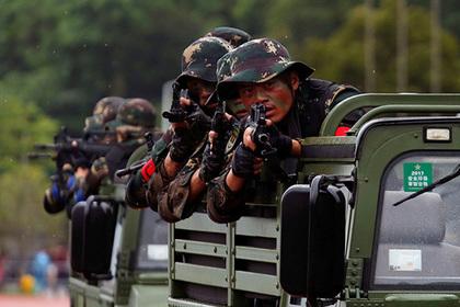 Китай открестился от своих военных в Сирии
