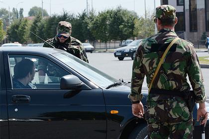 В Чечне налетчики с ножами напали на отдел полиции