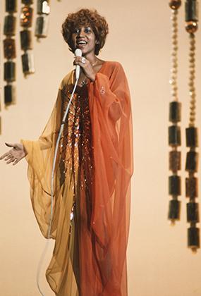 Арета Франклин в 1974 году
