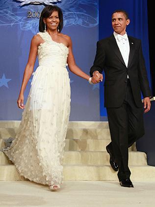 Первая инаугурация Барака Обамы, Мишель в платье Jason Wu