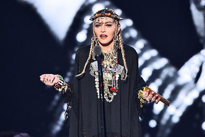 Мадонну высмеяли за самовлюбленную речь об Арете Франклин