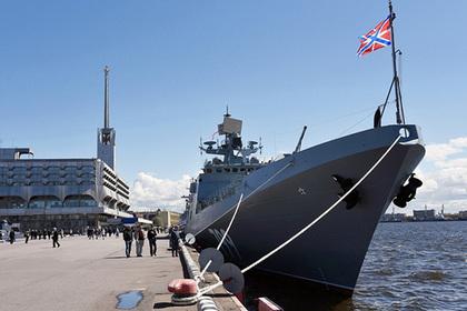 Британцы присмотрели за российским фрегатом в Ла-Манше