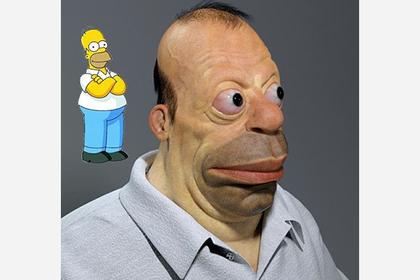 «Реальный» Гомер Симпсон ужаснул пользователей сети