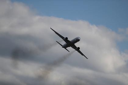 У летевшего в Сочи пассажирского самолета загорелся двигатель
