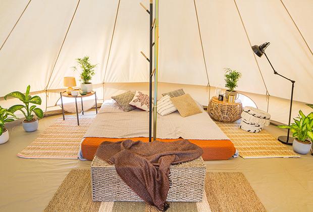 Интерьер палатки-шатра