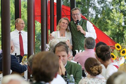 Путина и мужа главы МИД Австрии объединило дзюдо