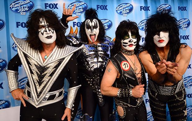 Рок-группа Kiss